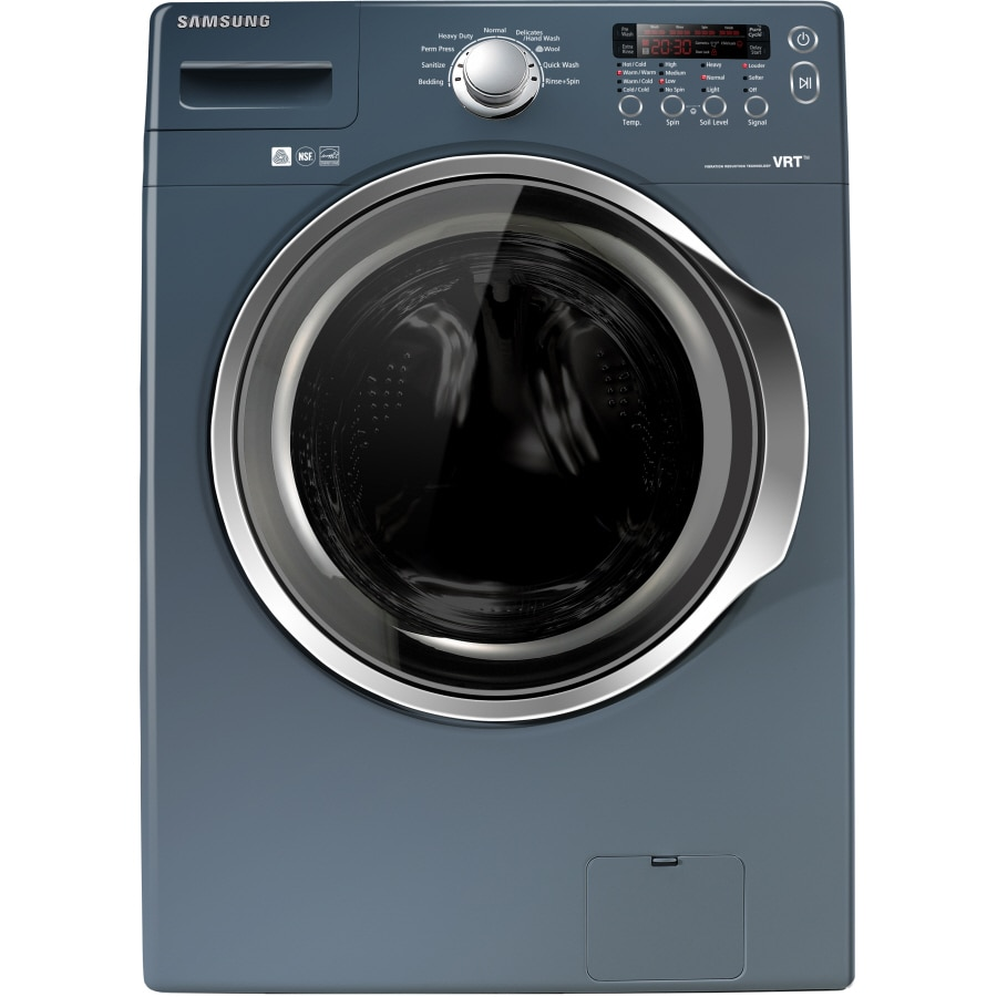 Samsung Front Load Washer Samsung 3 7 Cu Ft High Efficiency Stackable Front Load Washer