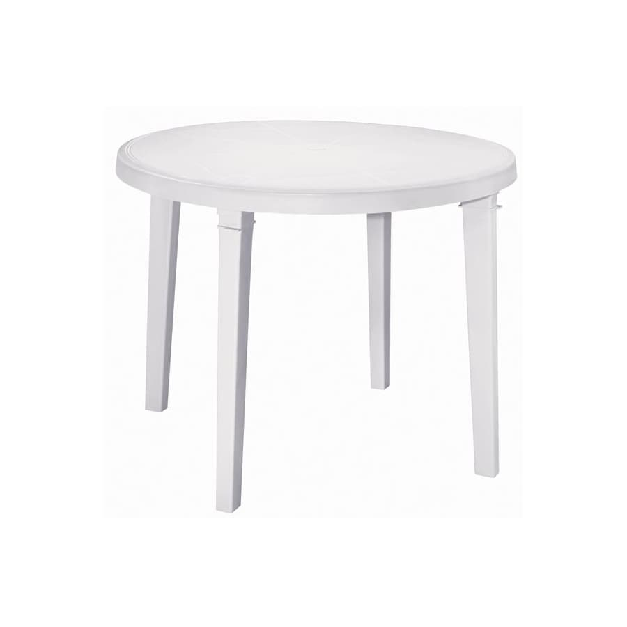Round Plastic Tables Plastic Round Patio Table House Architecture Design