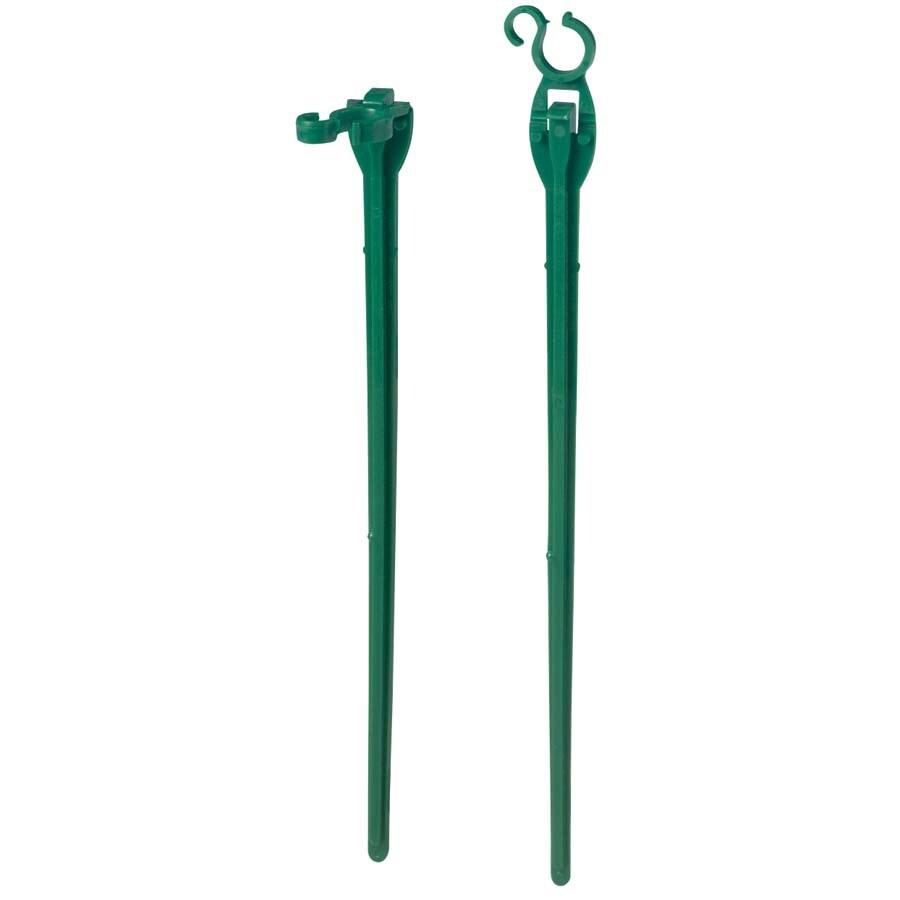 Shop holiday living 25 pack plastic lawn stakes at lowes com