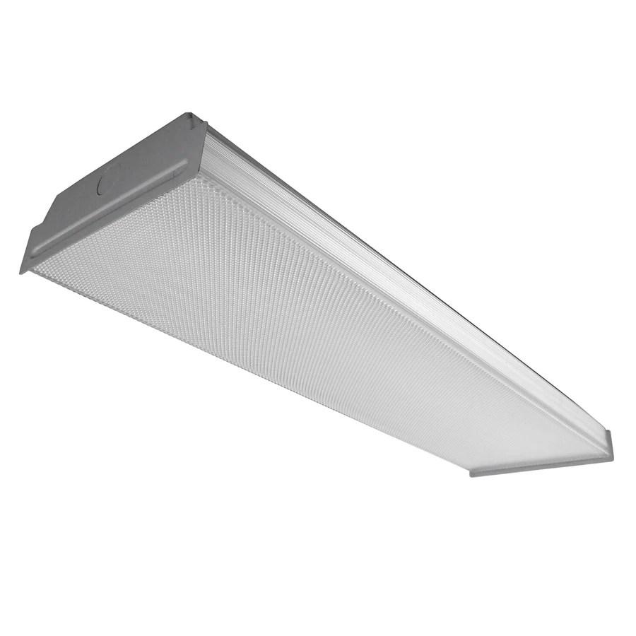 24 plug in fluorescent light fixture kitchen fluorescent light Acrylic Ceiling Fluorescent Light Common 2 ft Actual