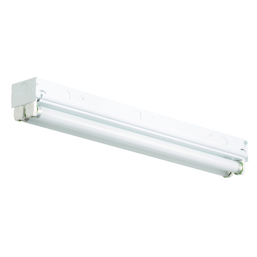 Fluorescent Lighting Utilitech Ceiling Fluorescent Light Common 2 Ft Actual 24 In