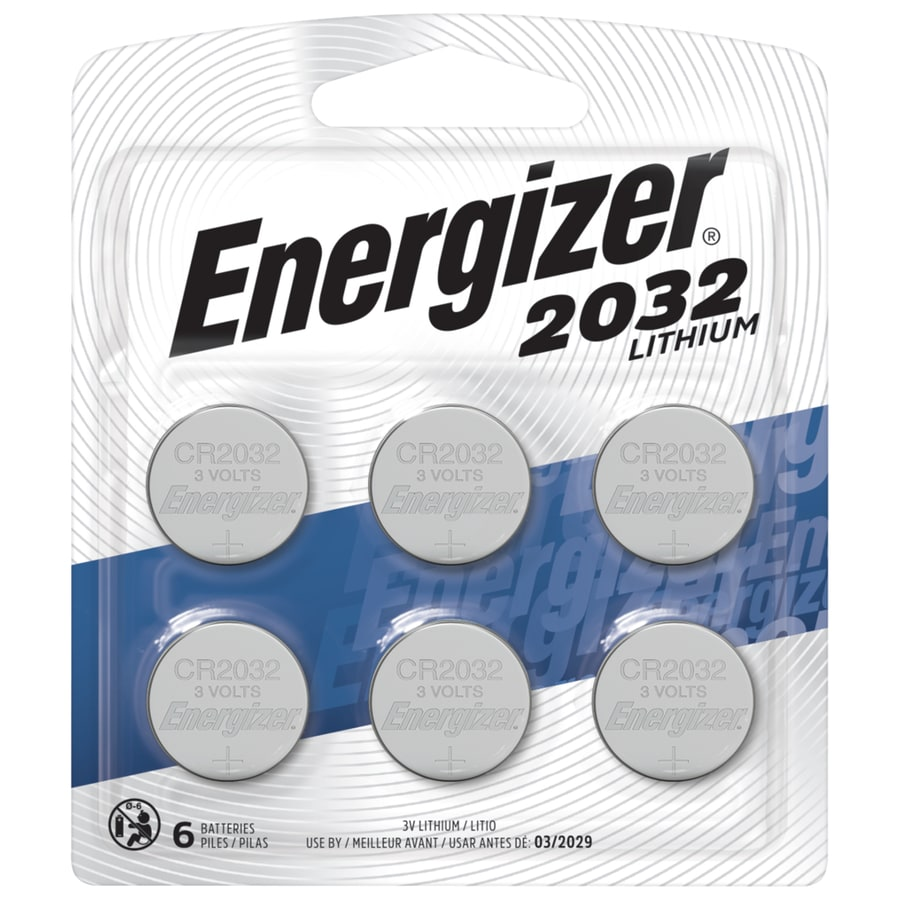 Batterie Cr2032 Energizer Lithium Cr2032 Coin Batteries 6 Pack At Lowes