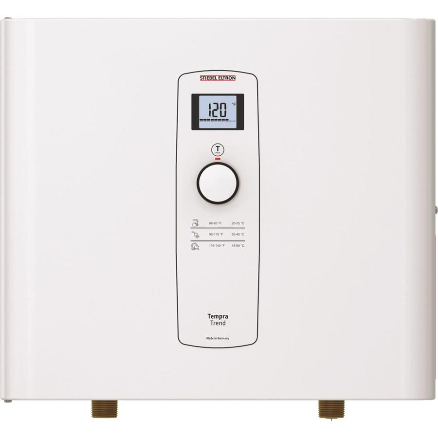 tankless water heater wiring
