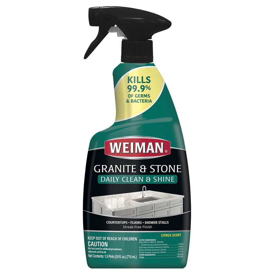 Weiman Products 24 Fl Oz Granite Cleaner In The Countertop Cleaners Sealers Department At Lowes Com