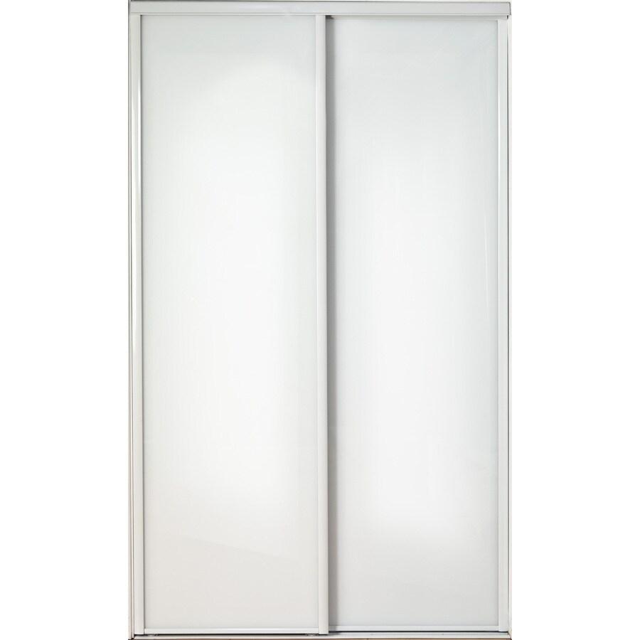 shop reliabilt steel sliding closet interior door with