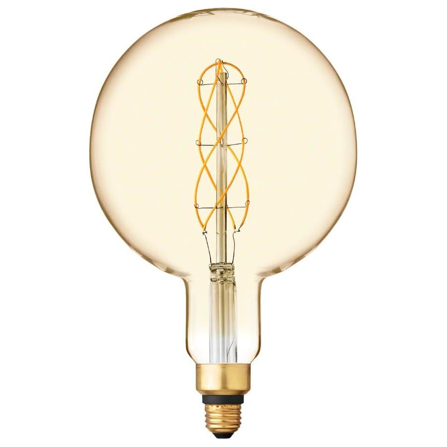 Does Lowes Recycle Light Bulbs Ge Vintage 40 Watt Eq Amber Dimmable Decorative Light Bulb At