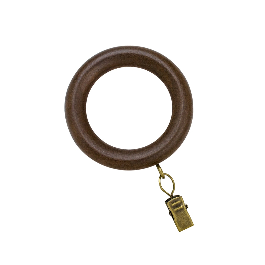 Cafe Curtain Clips Curtain Rings At Lowes