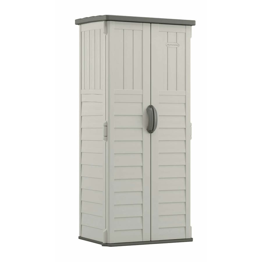 Keter High Store Vinyl Resin Storage Sheds At Lowes