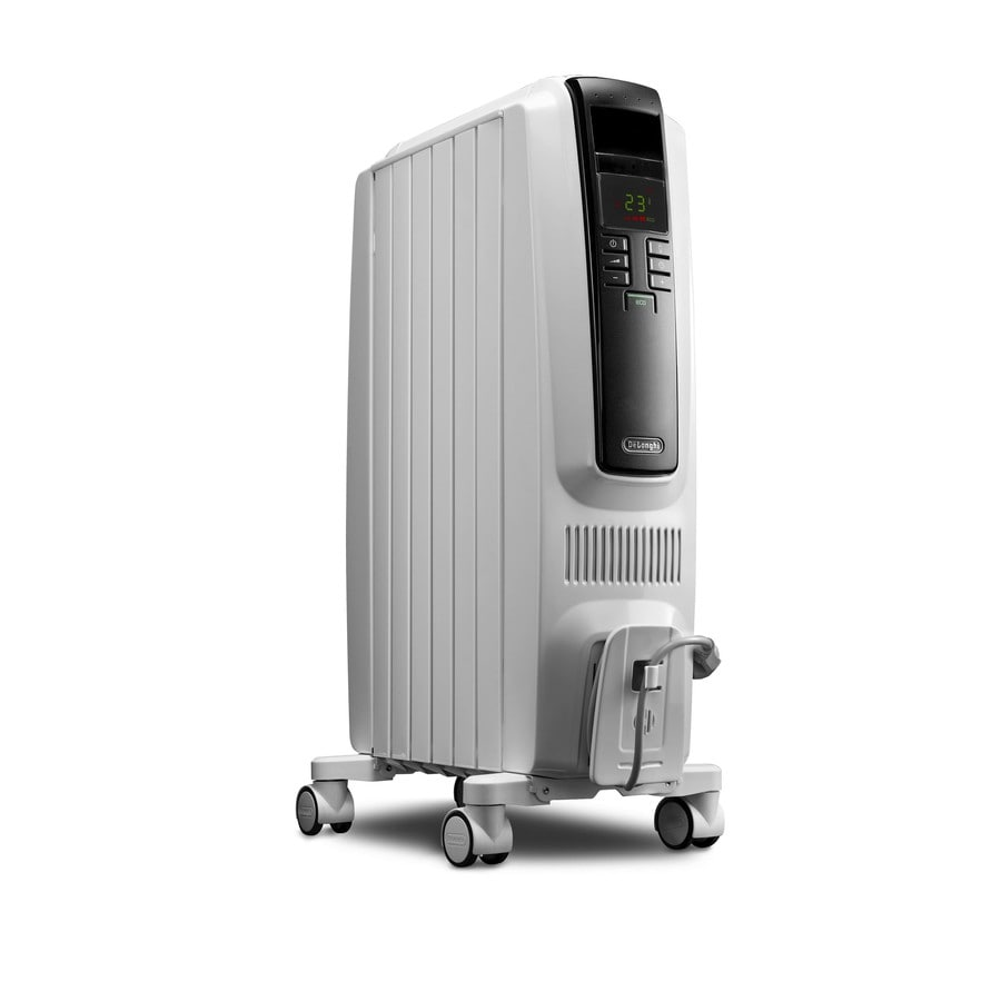 Wattage Radiator Delonghi 1500 Watt Oil Filled Radiant Tower Electric Space Heater