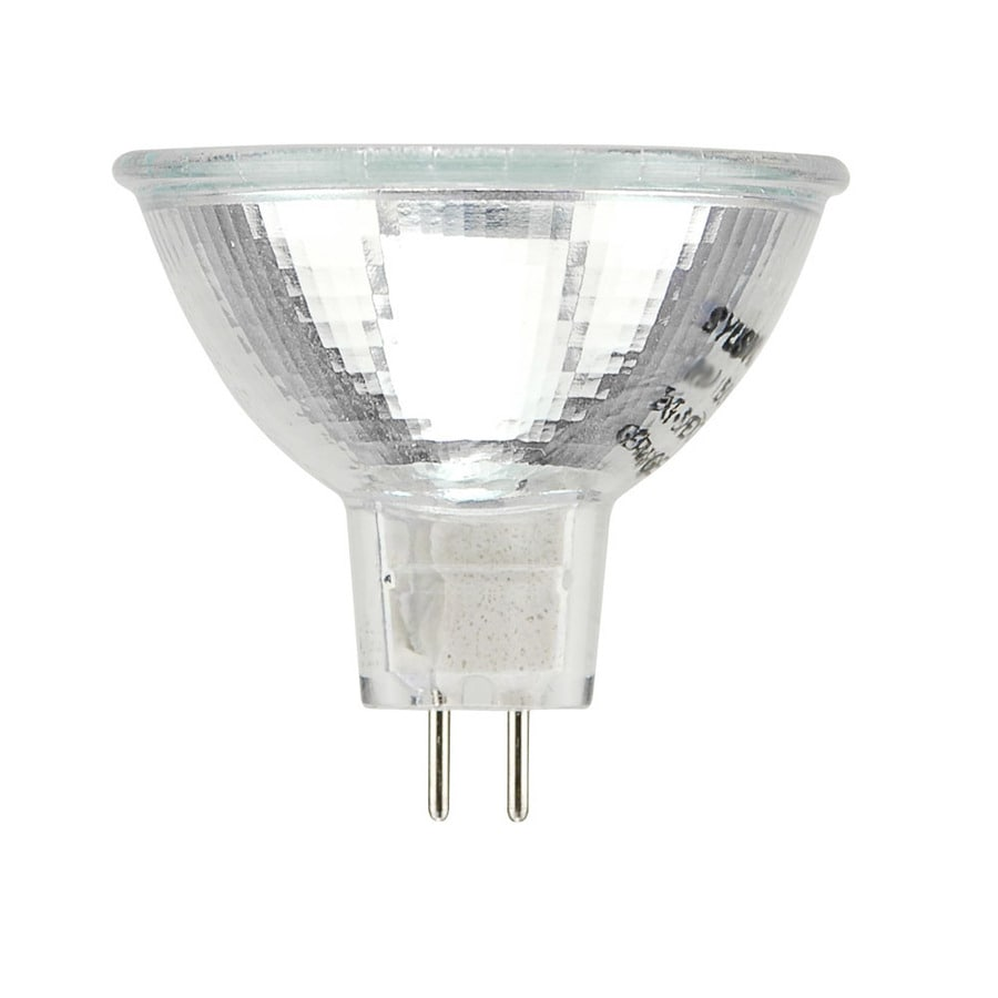 Halogen Spotlight Bulbs Sylvania 37 Watt Mr16 Plug In Base Warm White Halogen Spotlight