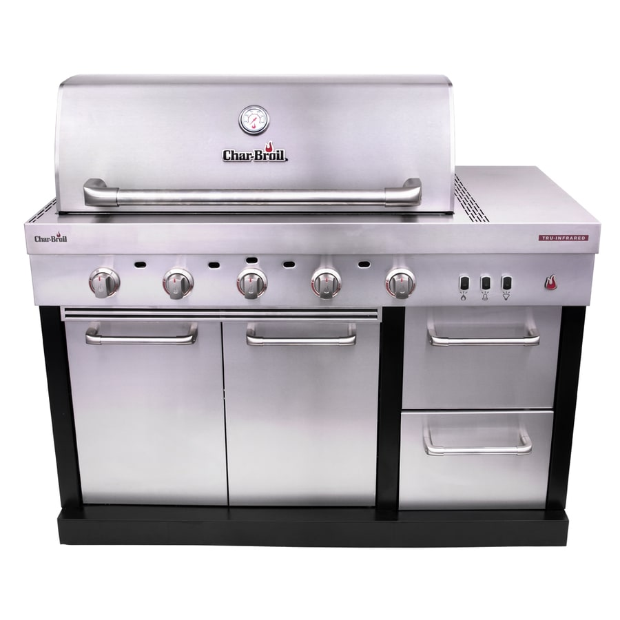 Outdoor Grill Char Broil Modular Outdoor Kitchen 5 Burner Medallion Modular Gas