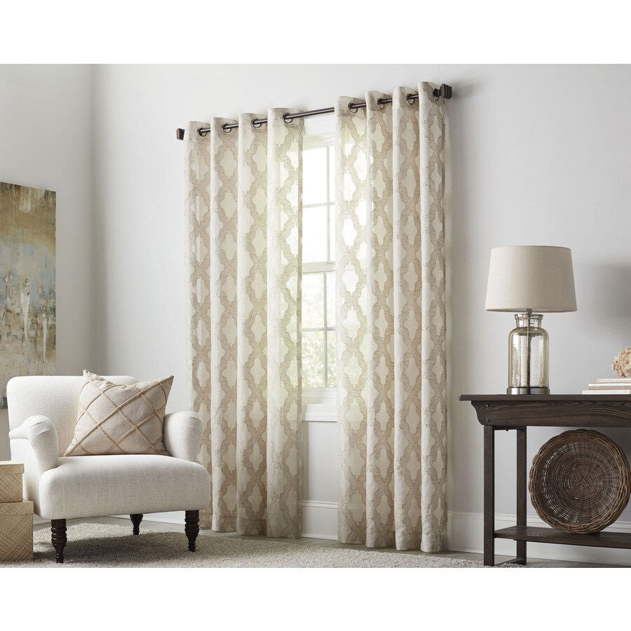 Double Wide Curtain Panels Curtains Drapes At Lowes