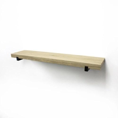 Medium Of Wood Wall Mounted Shelf