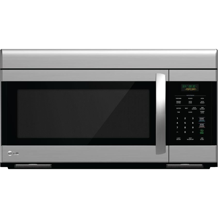 Lg 1 6 cu ft over the range microwave common 30