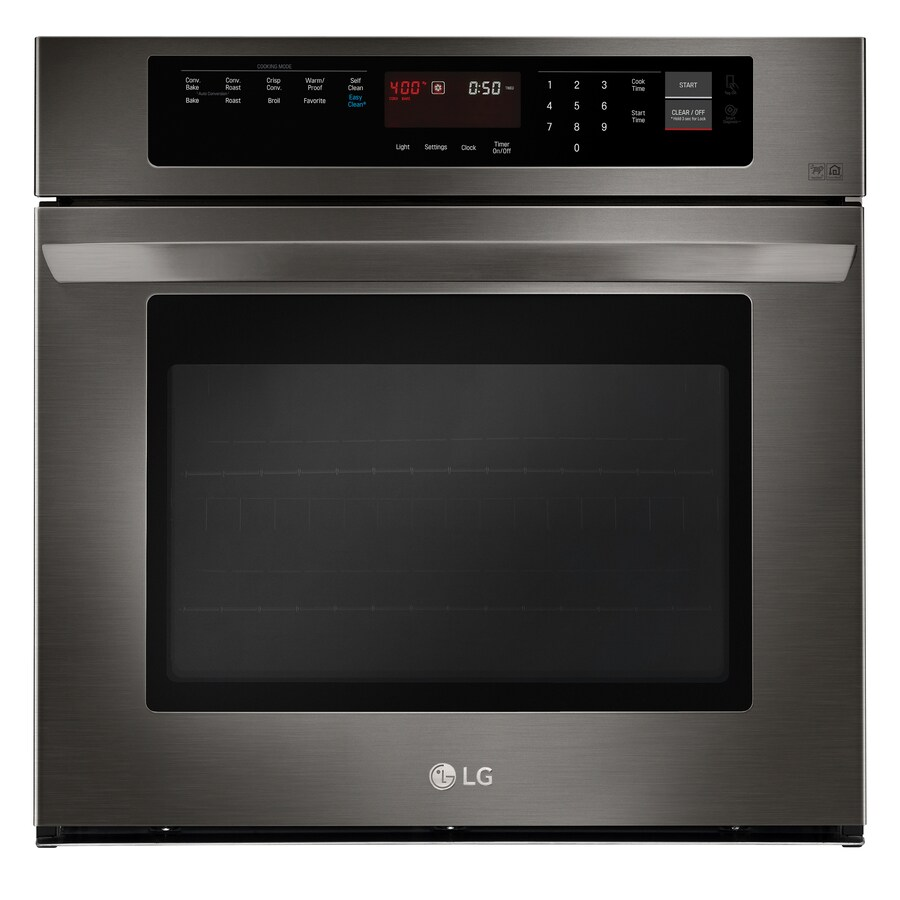 Salient Lg Easyclean True Convection Single Electric Wall Black Shop Single Electric Wall Ovens At Single Wall Ovens Sale Single Wall Oven 27 Inch houzz-02 Single Wall Oven
