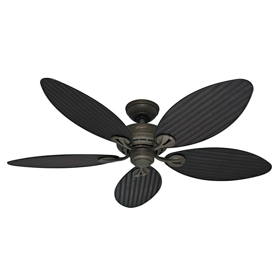 Black And Gold Ceiling Fan Hunter Bayview 54 In Provencal Gold Indoor Outdoor Ceiling Fan 5