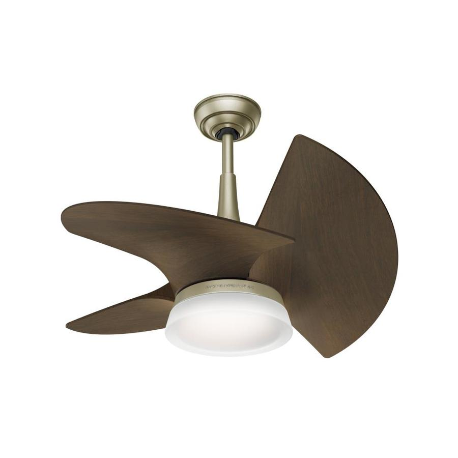Best Ceiling Fans For Small Rooms Casablanca Orchid Led 30 In Pewter Revival Indoor Outdoor Downrod