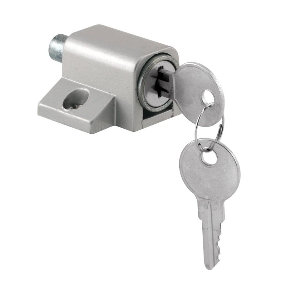 Shop Gatehouse Sliding Patio Door Cylinder Lock at Lowes.com