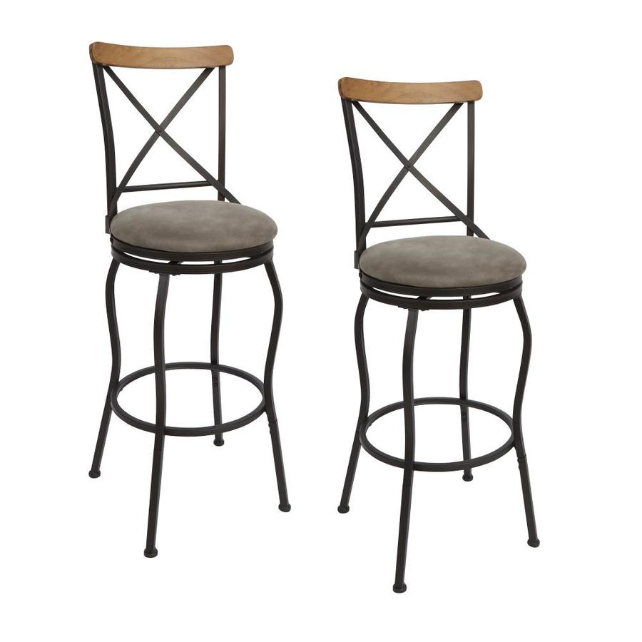 Cheap Stools Set Of 2 Oil Rubbed Bronze Adjustable Stools At Lowes