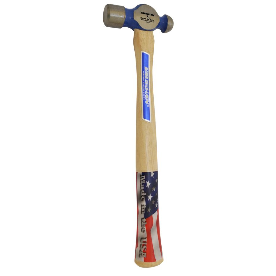 Ball Peen Hammer Vaughan 8 Oz Smooth Face Steel Head Wood Ball Peen Hammer At Lowes