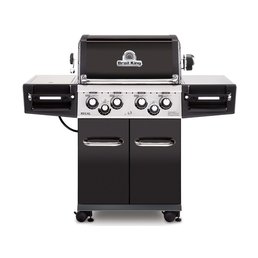 Char Broil Ersatzteile Broil King Regal 490 Black 4 Burner Liquid Propane Gas Grill With