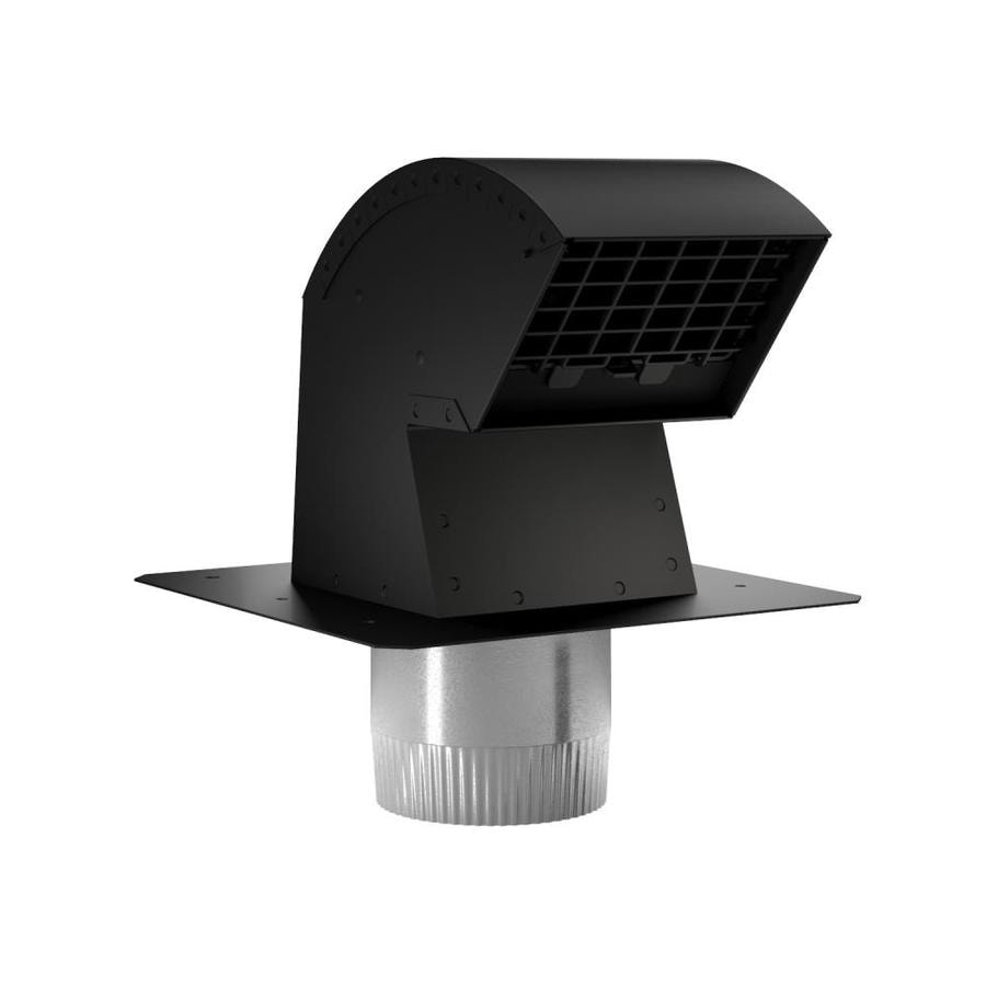 Exhaust Fan Roof Vent Imperial 4 In Metal Roof Vent Kit At Lowes