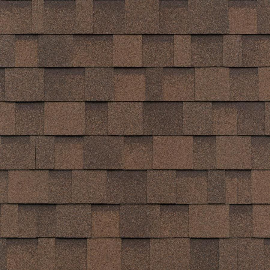 Crc Biltmore Shingles Iko Cambridge 33 3 Sq Ft Dual Brown Laminated Architectural Roof
