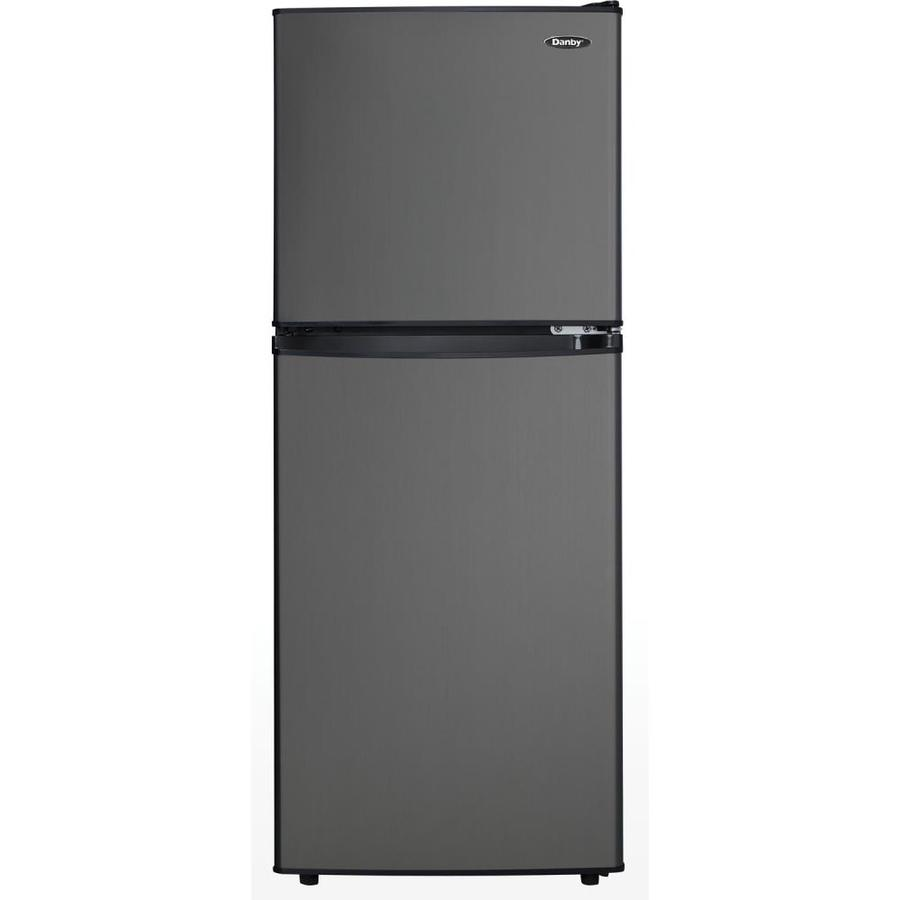 Fridge Freezer Danby 4 7 Cu Ft Freestanding Mini Fridge Freezer Compartment