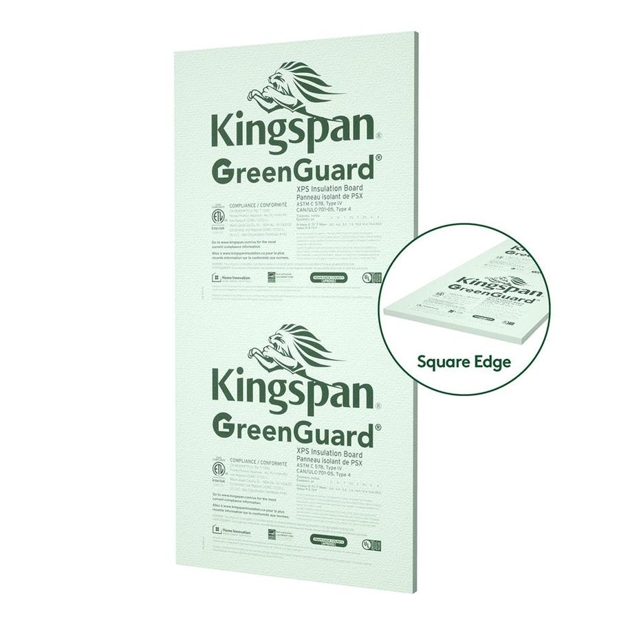 Rigid Insulation Types Kingspan Insulation Common 2 In X 4 Ft X 8 Ft Actual 2 In X 4