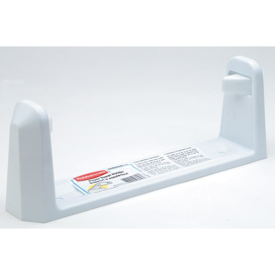 Wall Mount Paper Towel Dispensers Rubbermaid White Plastic Mounted Paper Towel Holder At Lowes