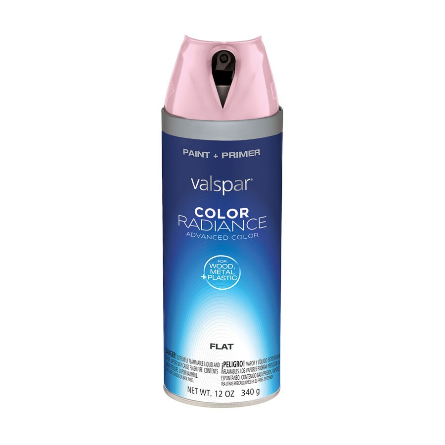 Nautical Paint Colors Valspar Rosy Cheeks Indoor Spray Paint At Lowes
