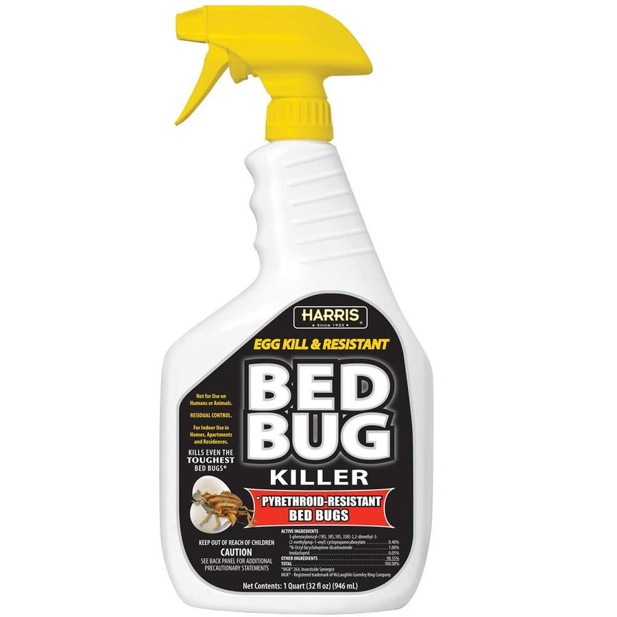 Spray To Kill Bed Bugs Harris Pro 32 Fl Oz Bed Bug Killer At Lowes