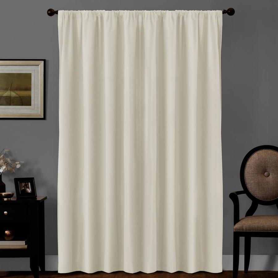 84 In Linen Polyester Blackout Thermal Lined Single Curtain Panel In The Curtains Drapes Department At Lowes Com
