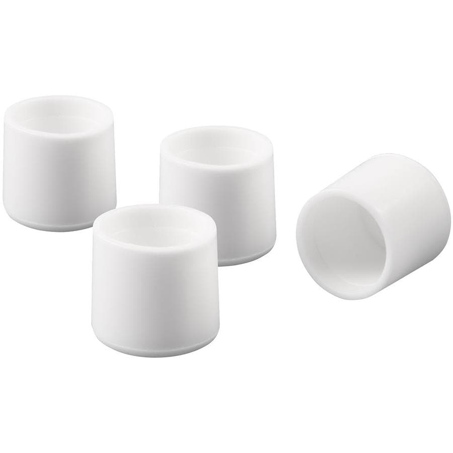 Shop Waxman 1 In White Plastic Tips At Lowescom
