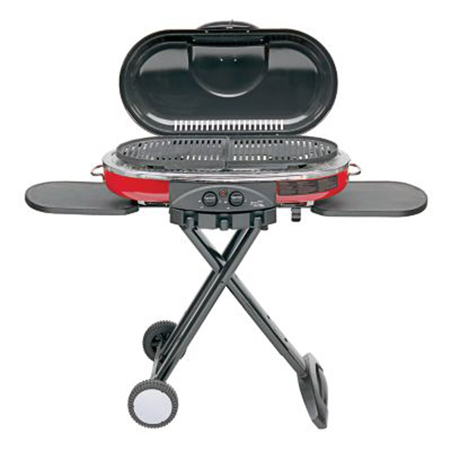 Gas Road Trip Coleman Road Trip Red 20 000 Btu 285 Sq In Portable Gas Grill At