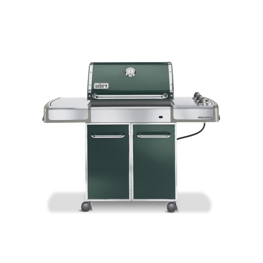 Barbecue Gaz Promotion Weber Genesis E 310 3 Burner Green Gas Grill At Lowes