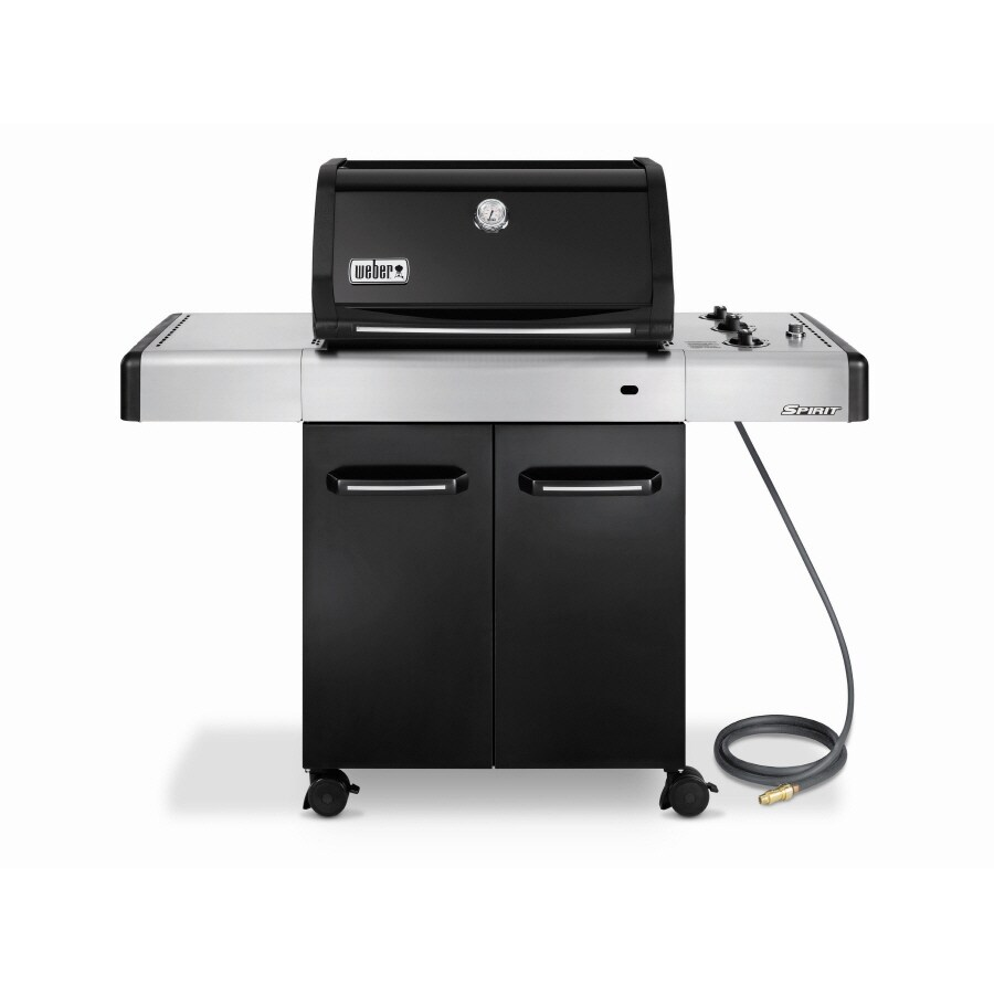 Weber Grill Spirit E 310 Weber Spirit E 310 3 Burner Natural Gas Gas Grill At Lowes