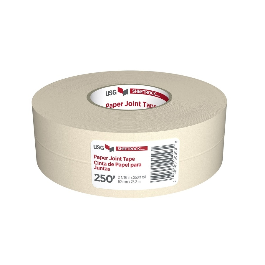 Drywall Paper Tape Sheetrock Brand 2 0625 In X 250 Ft Solid Joint Tape At Lowes