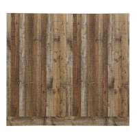 Shop 48-in x 8-ft Smooth Weathered Barnboard MDF Wall ...