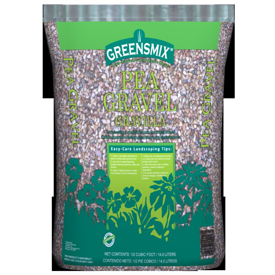 Pea Gravel Home Depot 5 Cu Ft At Lowes