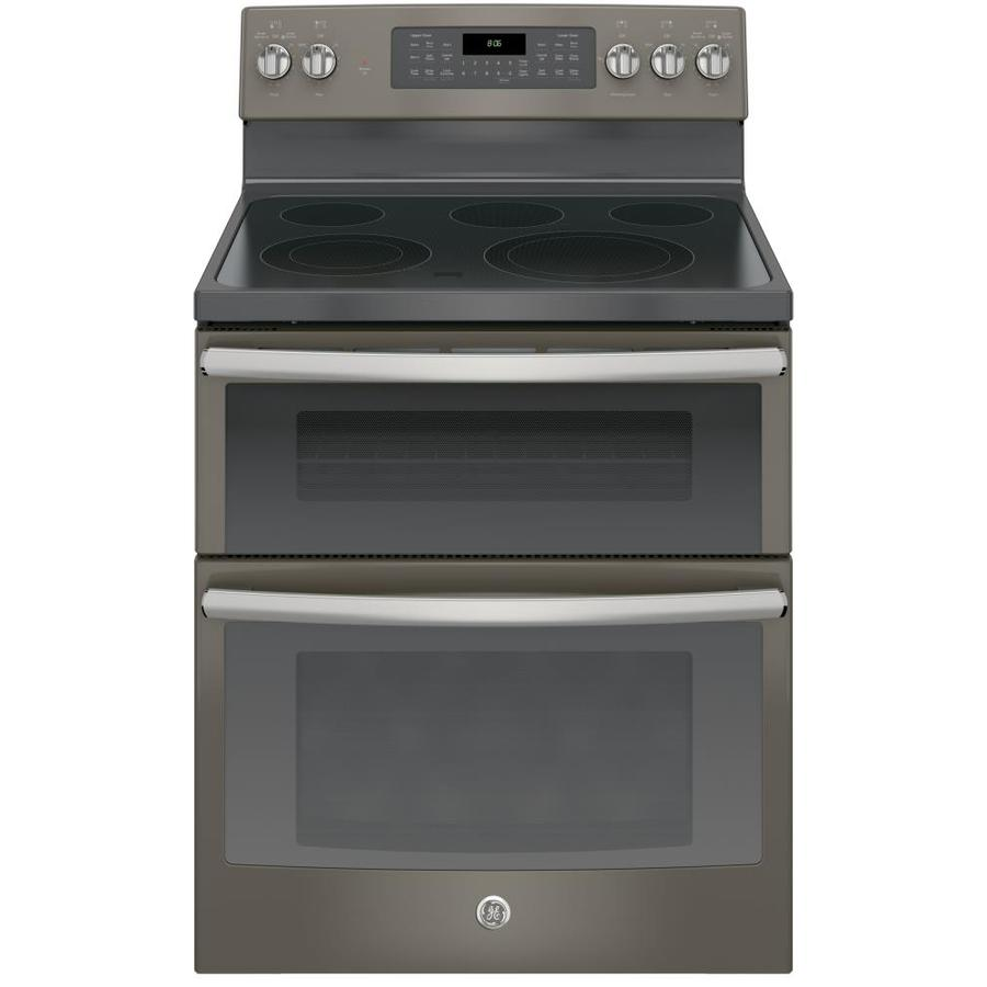 Electric Ovens For Sale Double Oven Electric Ranges At Lowes