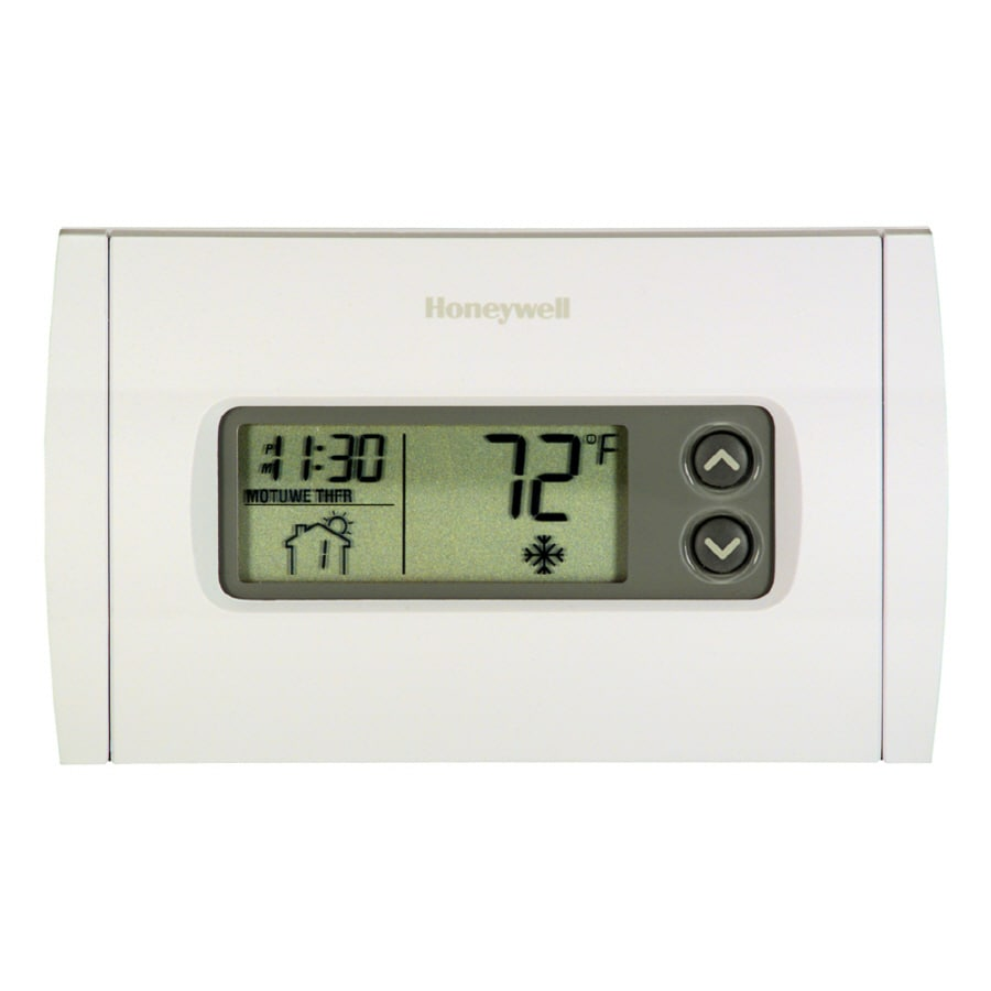 Honeywell Programmable Thermostat Programmable Thermostats At Lowes