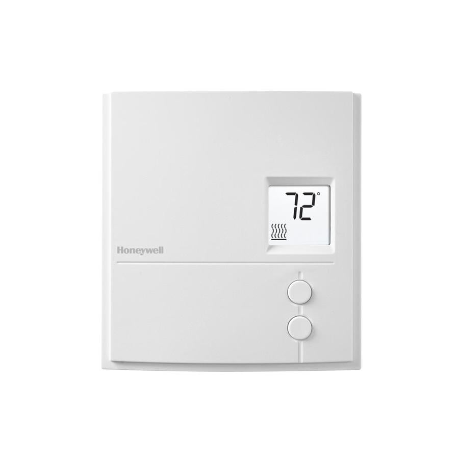 Honeywell Programmable Thermostat Honeywell Electronic Non Programmable Thermostat At Lowes
