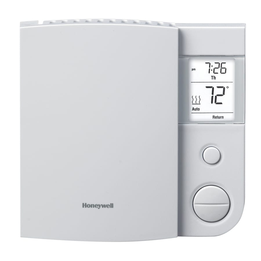 Honeywell Programmable Thermostat Honeywell Line Volt Programmable Thermostat Programmable