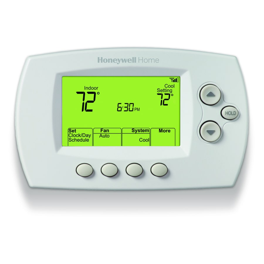 Honeywell Programmable Thermostat Honeywell Wi Fi 7 Day Programmable Thermostat With Built In Wifi