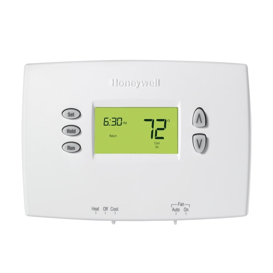 Honeywell Programmable Thermostat Honeywell Basic Digital Programmable Thermostat At Lowes