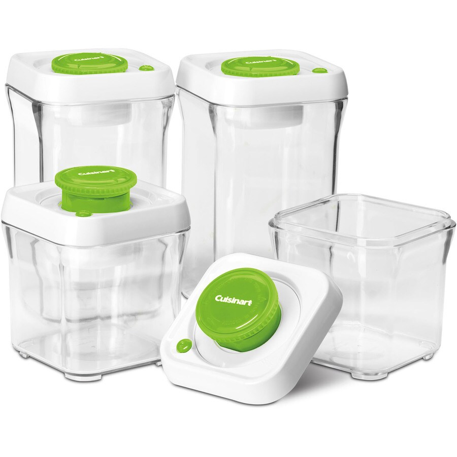 Shop Cuisinart 4 Piece Plastic Food Storage Container At