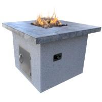 Shop Cal Flame 48-in W 55000-Btu Gray Composite Liquid ...