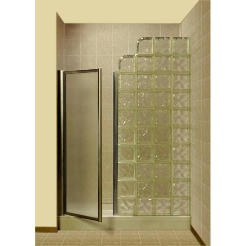 Medium Of Glass Block Wall