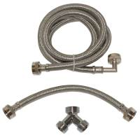 Shop EASTMAN 72-in L 3/4-in Hose Thread Inlet x 3/4-in ...